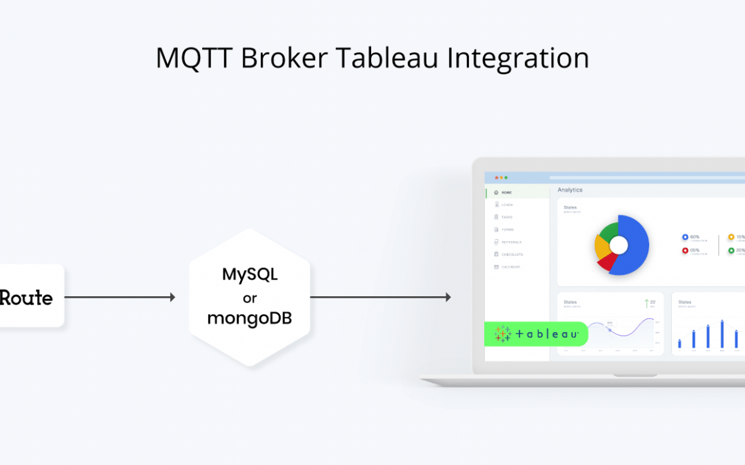 MQTT Broker Tableau Integration for IoT Data Analysis