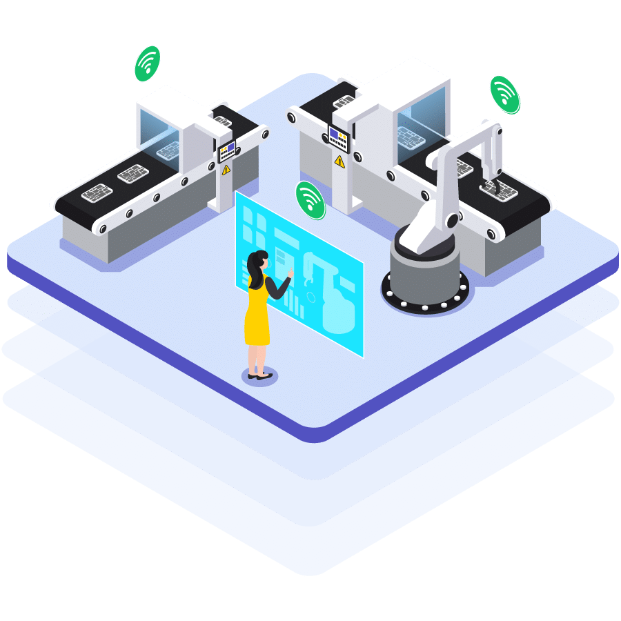 Industry 4.0 Manufacturing Man Machine interaction